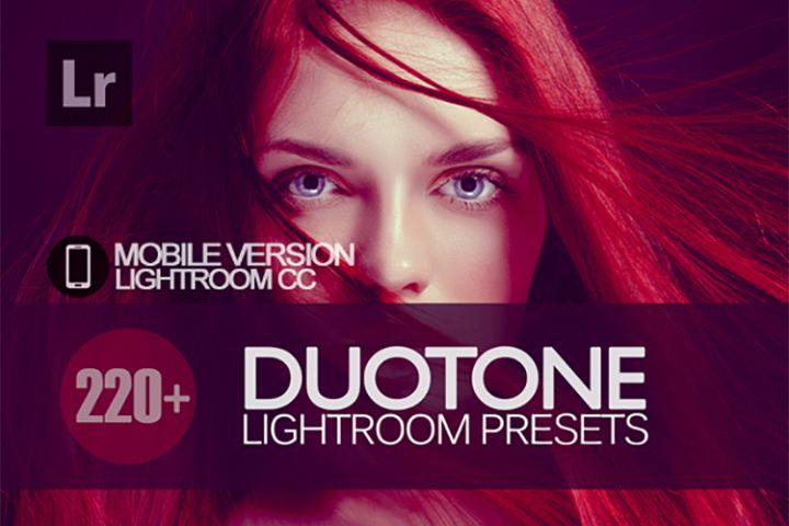 220 Duotone Lightroom Mobile bundle Presets