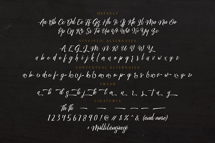 Megattor typeface example image 7