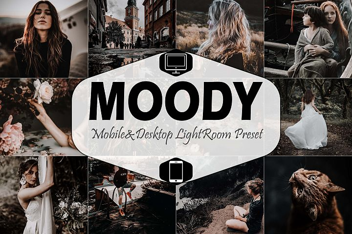 Moody Mobile & Desktop Lightroom Presets, instagram modern