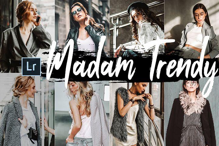 05 Madam Trendy Desktop Lightroom Presets and ACR preset