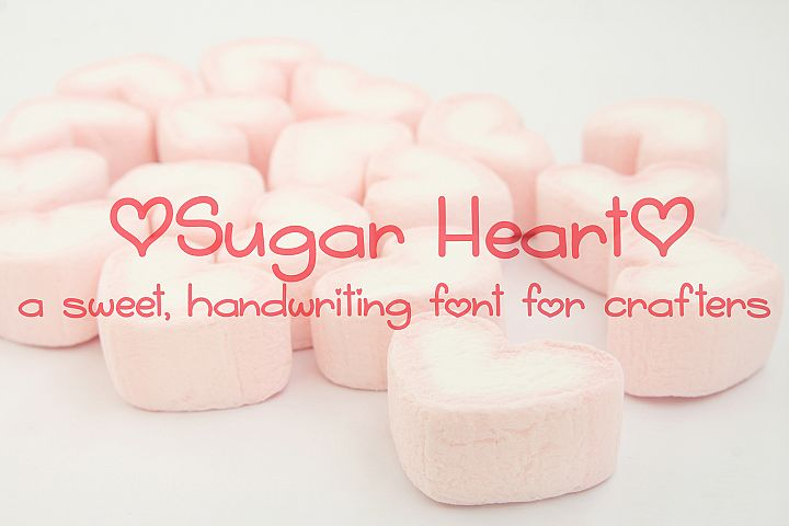 Sugar Heart - Free Font of The Week