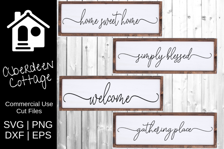 Farmhouse Typography SVG Collection