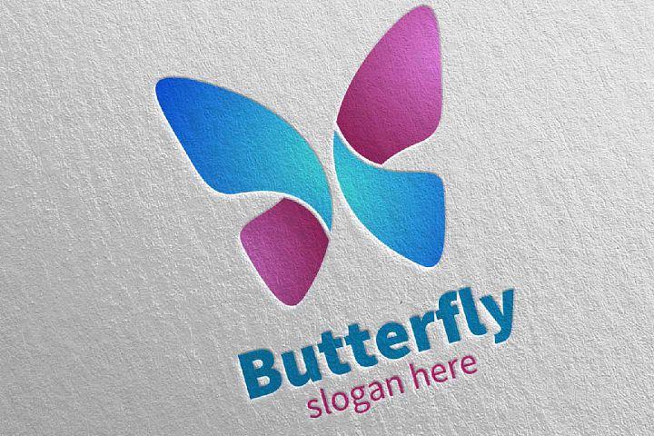Butterfly Logo vol 11
