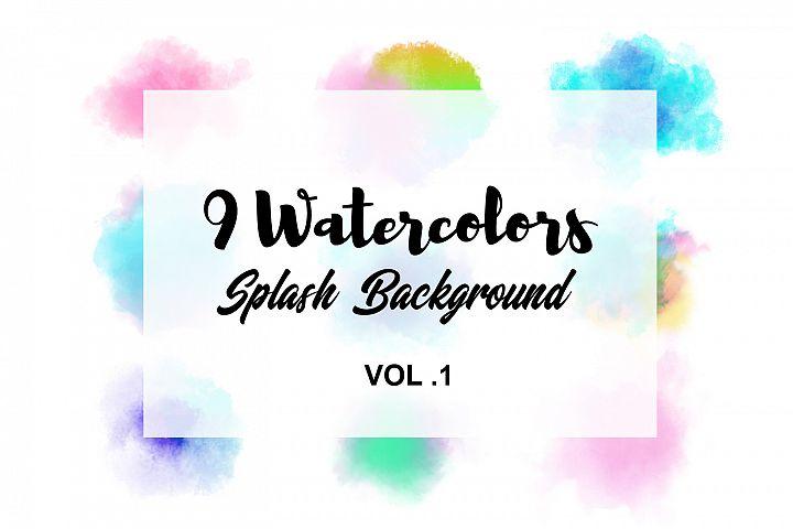 Watercolor Splash Background