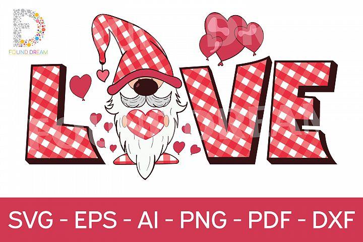 Gnome love | svg file