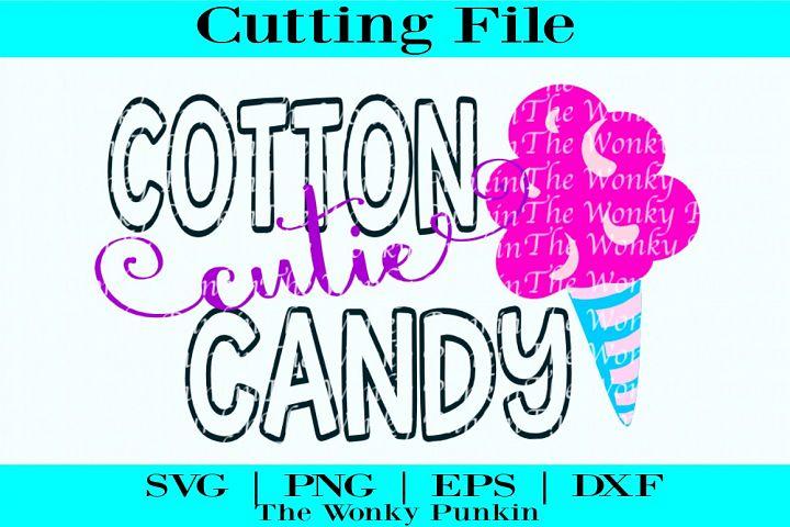 Cotton Candy Cutie , Svg File