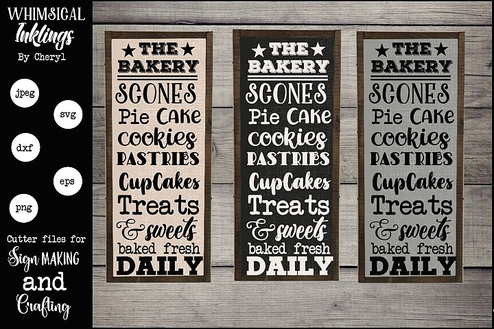 The Bakery SVG