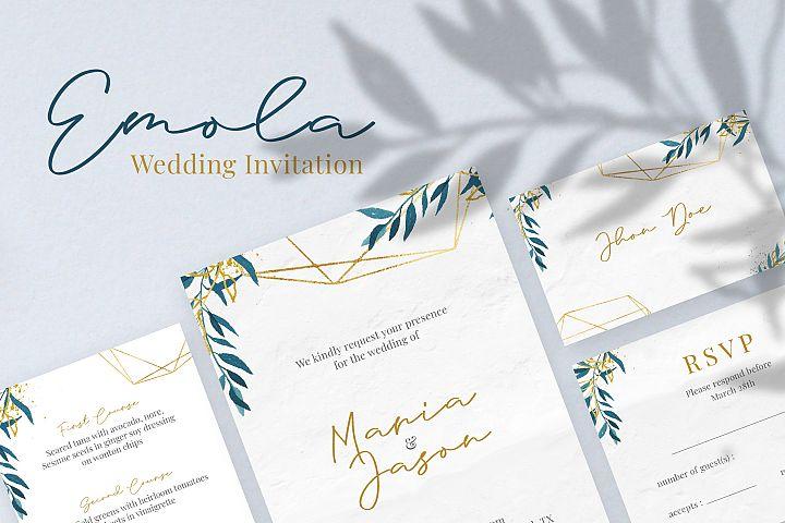 Emola Wedding Invitation