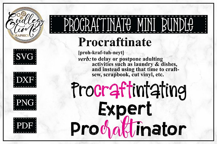 Mini Procraftinator Bundle