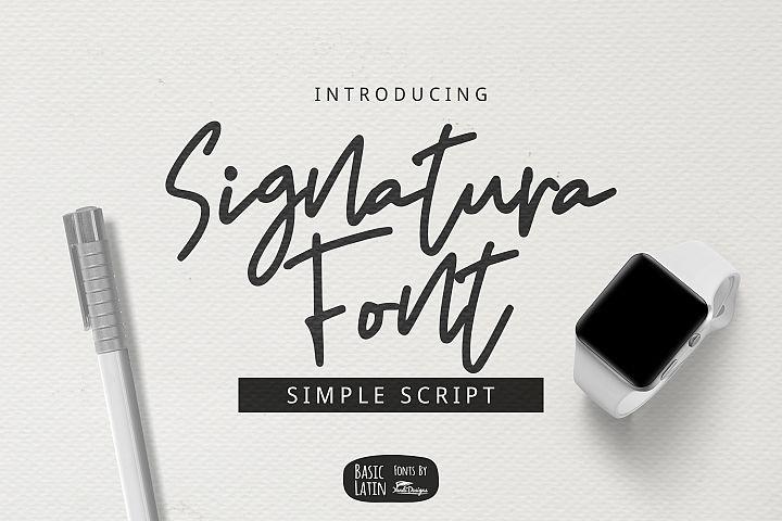 Signatura Font