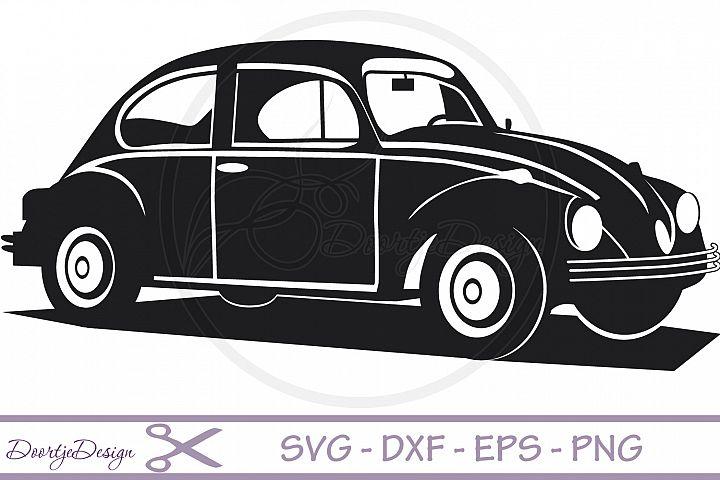 VW car Vector files SVG File