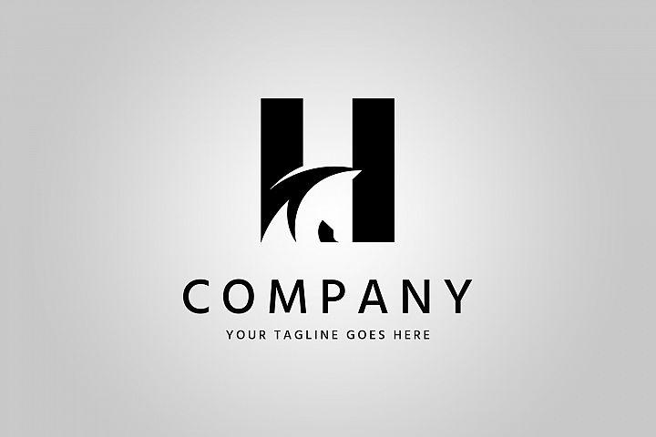 Horse Letter Logo Template