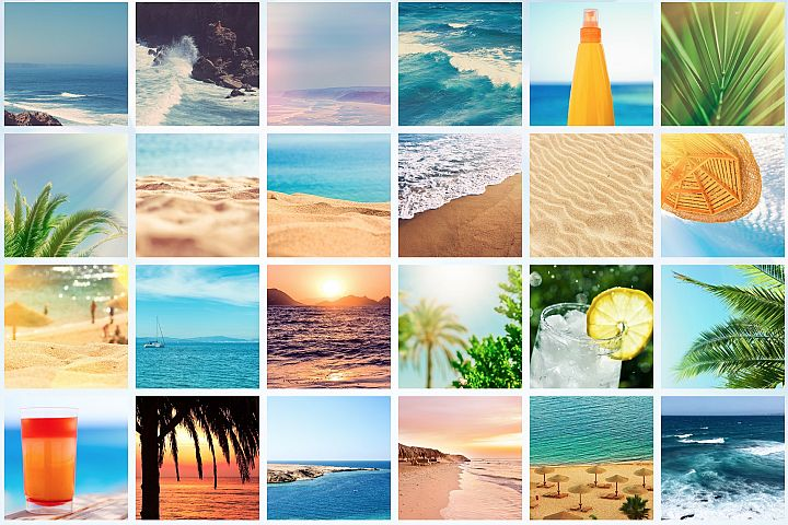 50 Images | Summertime Stock Photo Bundle