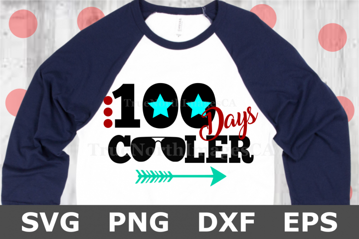 100 Days Cooler - A School SVG Cut File