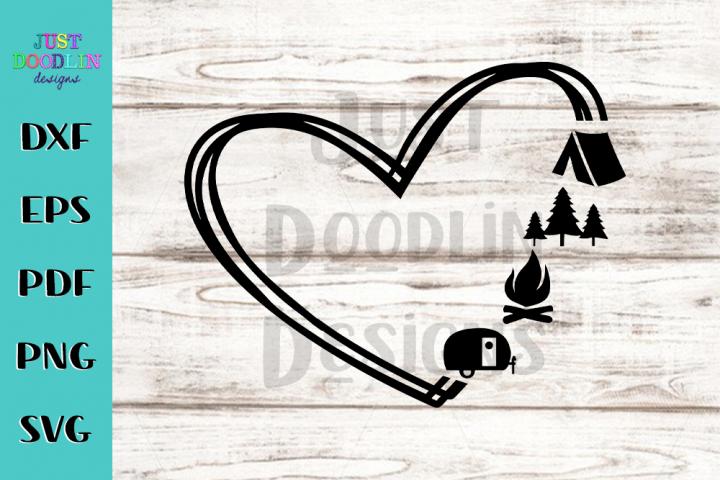 Camping Love Design