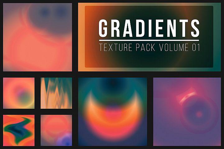 50 Gradient Textures Vol. 01