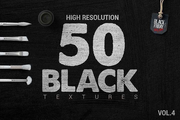 50 Black Textures vol.4 Blackfriday offer