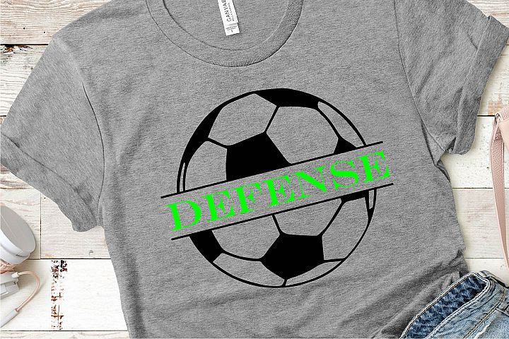 Soccer Defense SVG, Sublimation, PNG EPS Sports File