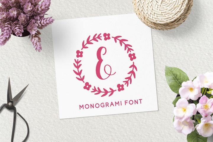 Sweet Monogram Floral