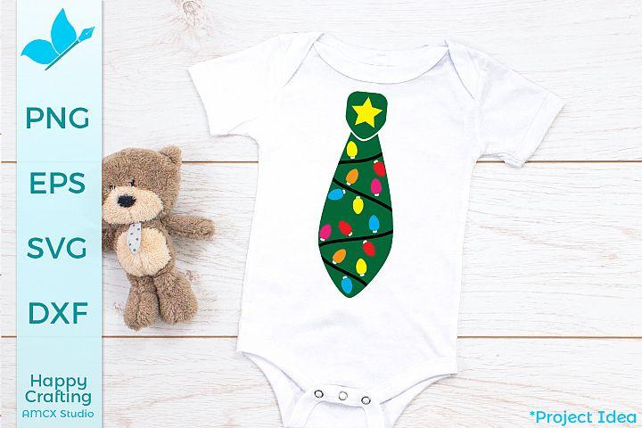 Christmas Tree Tie - Holiday Ties Craft Files