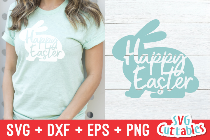 Happy Easter Bunny | Easter svg Cut File