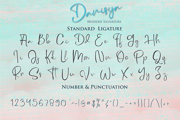 Danisya Modern Signature example 8