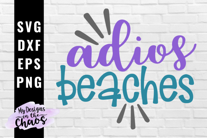 Summer Beach SVG EPS DXF PNG | Cruise SVG