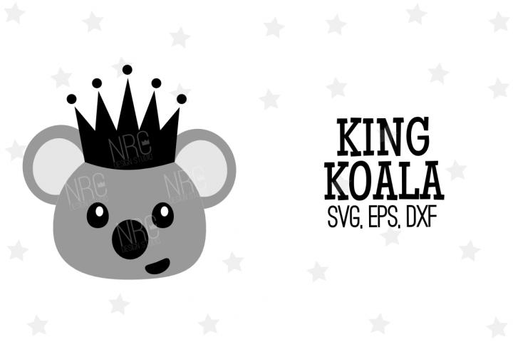 King Koala SVG File