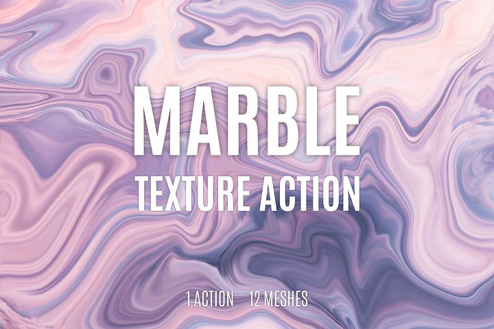 Marble Texture Action example 1