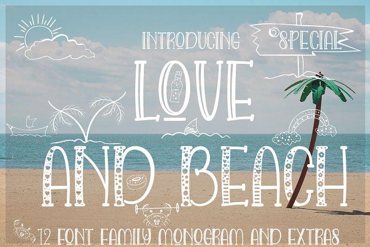 LOVE AND BEACH