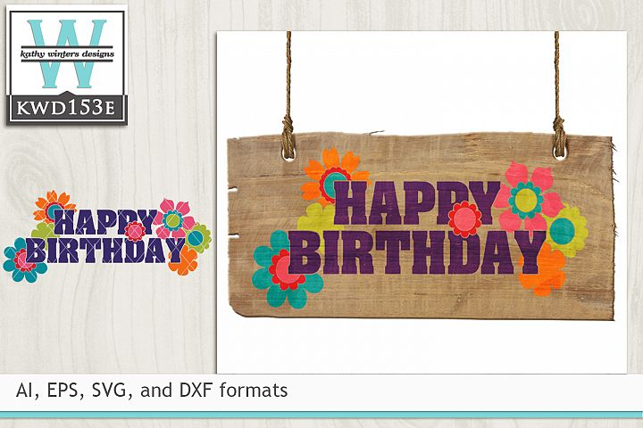 Birthday Svg Happy Birthday 11998 Cut Files Design Bundles