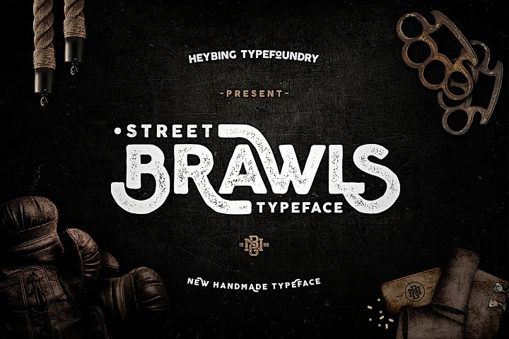 Brawls Typeface + Bonus