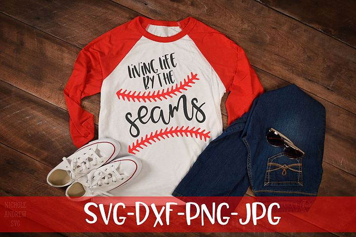 Living life by the seams, Baseball, SVG