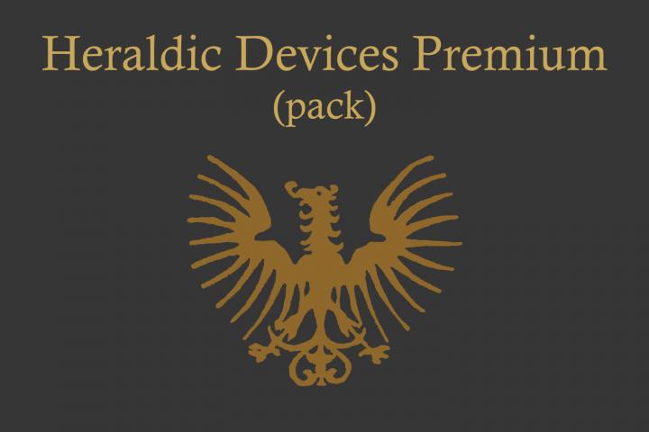 Heraldic Devices Premium (pack)  example image 1
