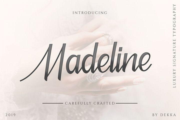 Madeline - Beauty Font