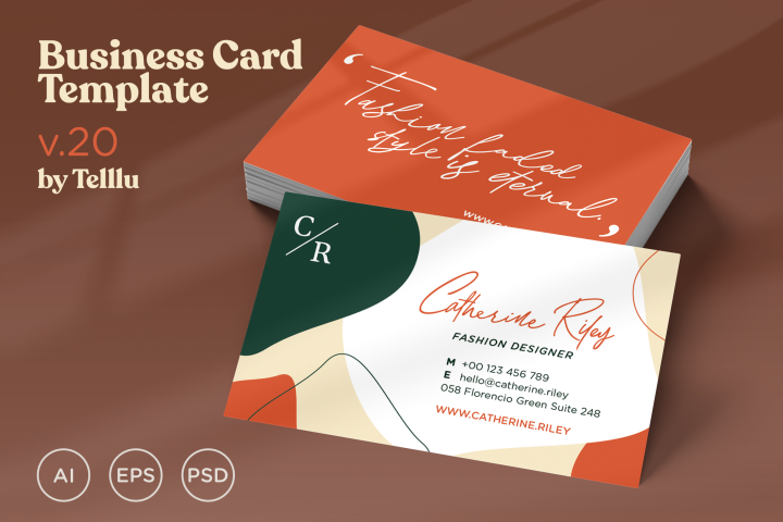 Business Card Template v20
