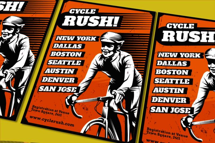Cycle Rush Flyer
