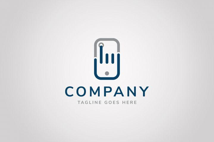 Hand Phone Logo