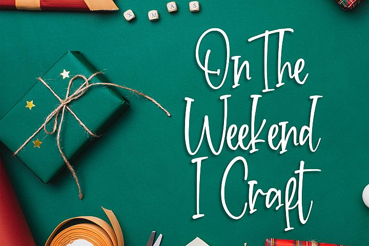 Crafteria Script Font example image 2