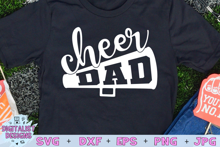 Cheer Dad SVG
