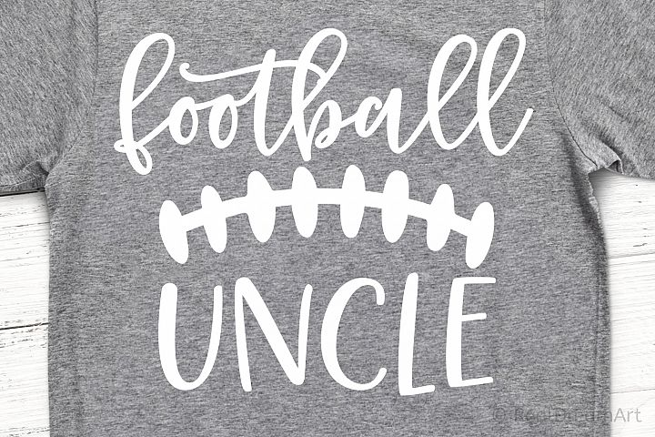 Football Uncle SVG, DXF, PNG, EPS