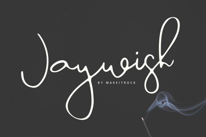 Jaywish | A classy script