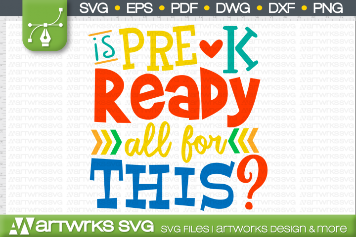 School SVG files for Cricut | Is Pre K Ready for All This