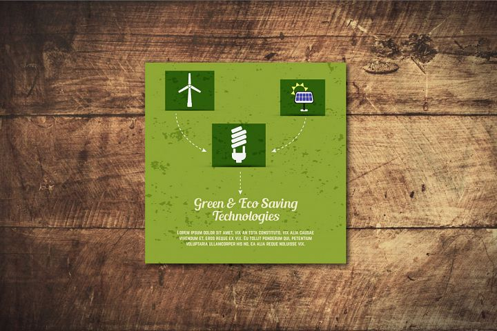 5 Eco Poster Concepts & Stickers example 3