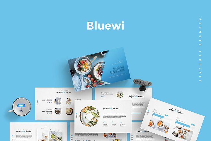 Bluewi - Keynote Template