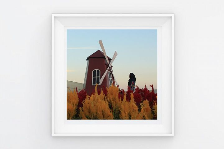 FRAME POSTER WINDMILL