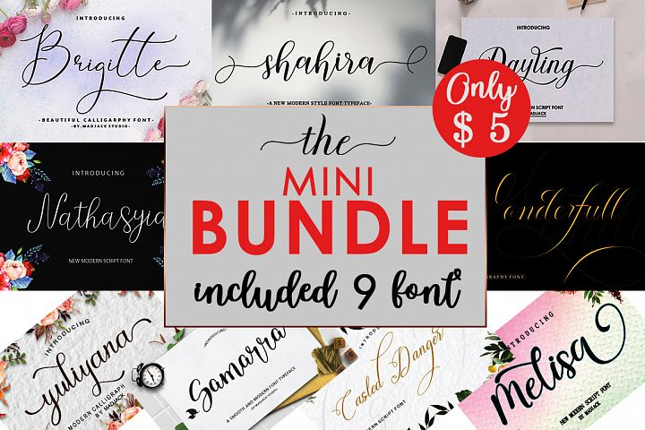 The Mini Bundle.Font