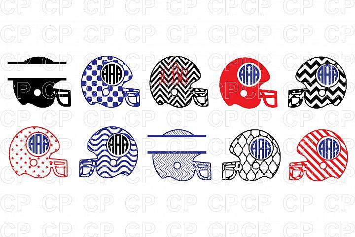 Football Helmet  Bundle SVG Cut Files, Football Helmet Clipart
