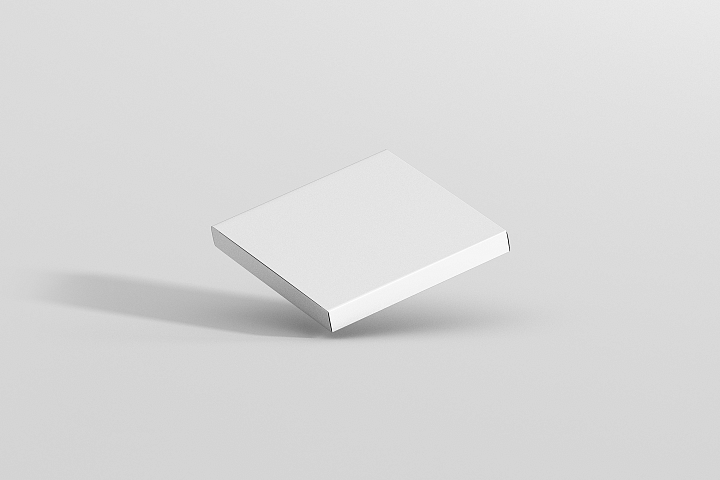 Square Packaging Mockup