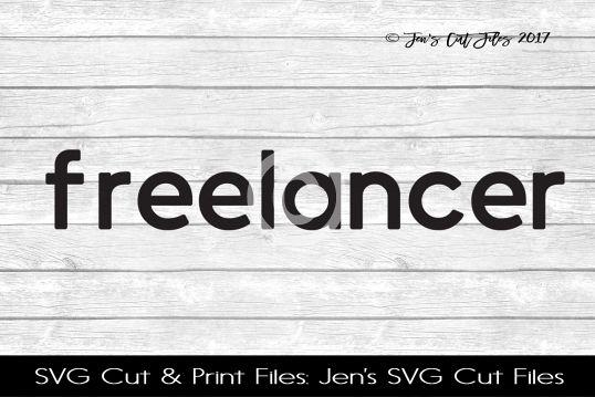 Freelancer SVG Cut File